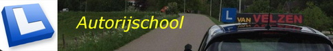 Autorijschool van Velzen Logo